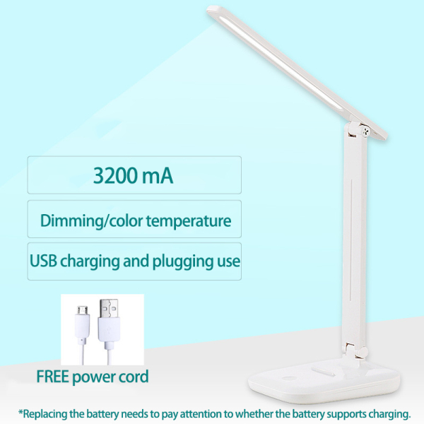Eye Protection LED Desk Lamp USB Plug-in Foldable Desk Lamp Touch Study Lamp/3-Level Brightness Colour Energy saving and eye protection lamp bedroom bedside lamp table lamp living room table light table lamp bedside table lamp table lamp led table lamp