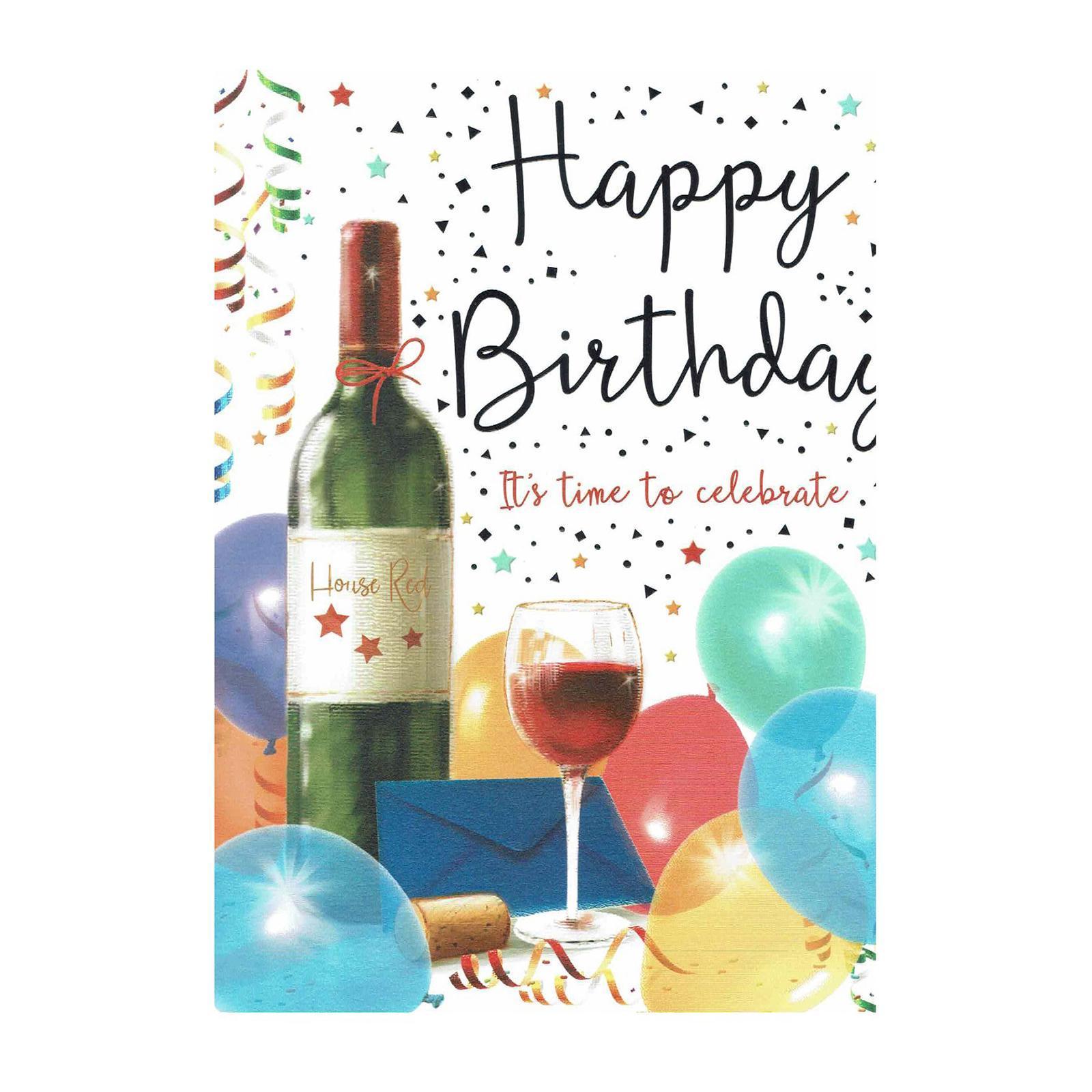 Piccadilly Big Card - Birthday