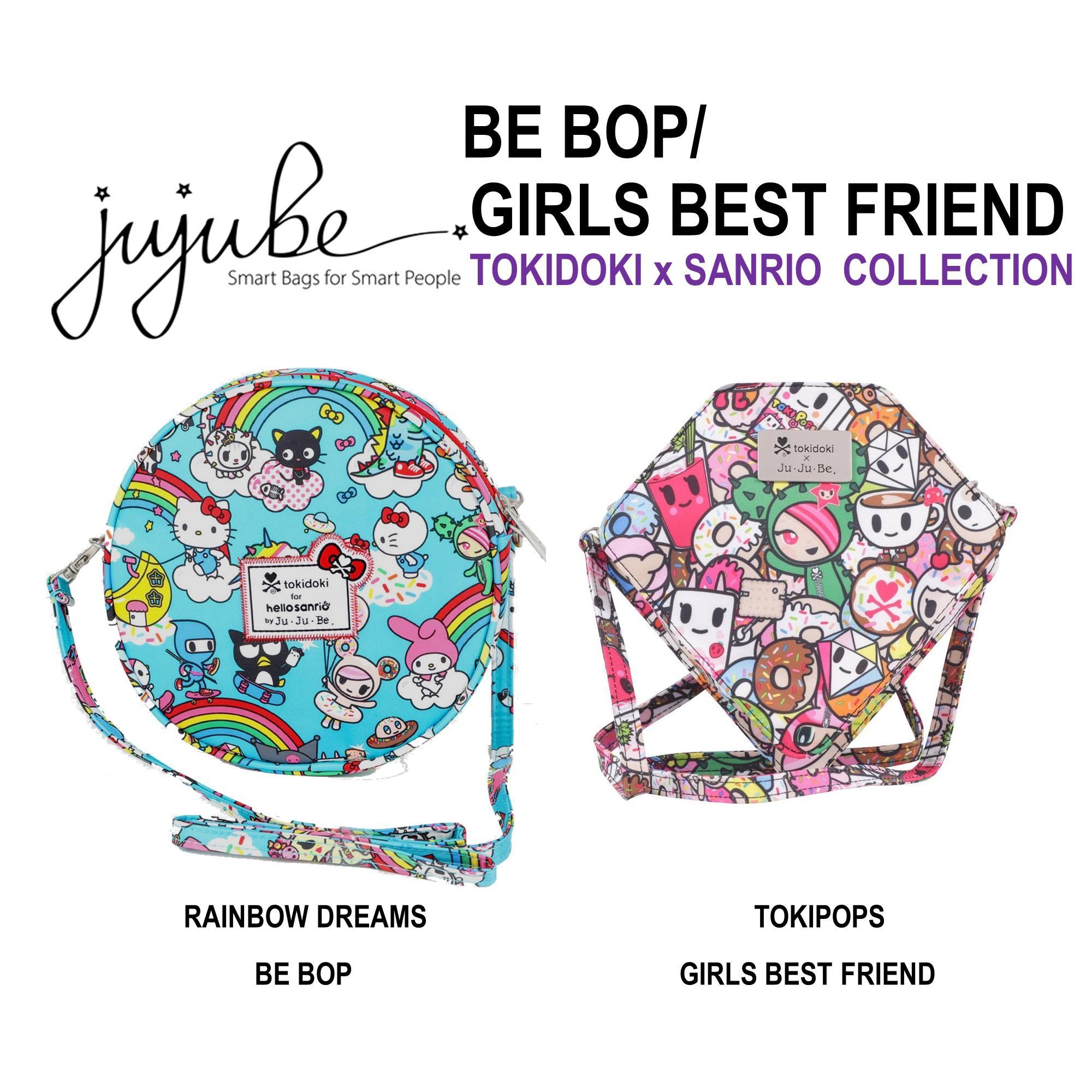 Jujube ∣  Ju-Ju-Be [ Tokipops Girls Best Friend . Rainbow Dreams Be Bop ] Crossbody bag, Tokidoki x Sanrio Collection