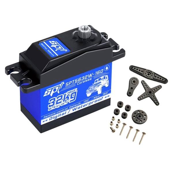 Mua SPT 32KG Digital Servo Digital Steering Gear High for 1:10 or 1:8 Remote Control Car Climbing Big Foot Offroad Short Truck Etc