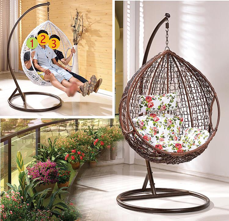 Swing Chair S817 Brown