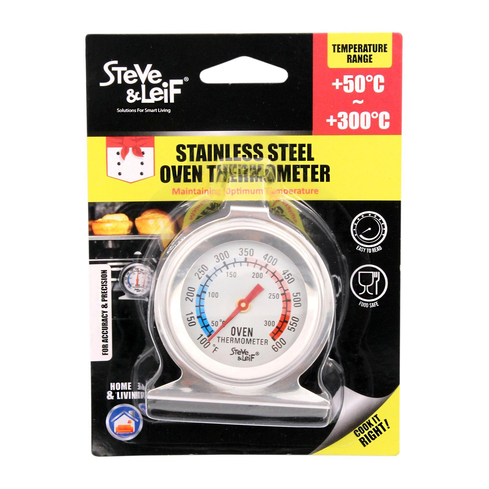 Steve & Leif Kitchen Convection Oven Thermometer