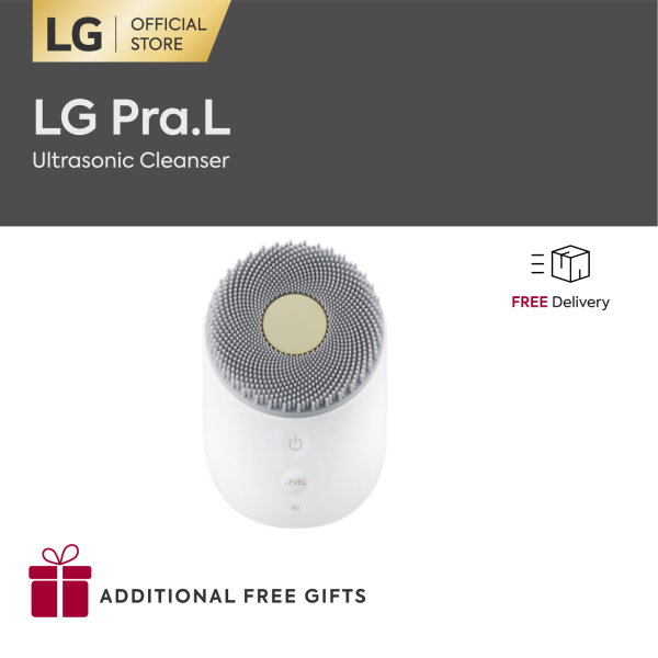 Buy LG Pra.L Ultrasonic Cleanser [Launch Special: Free Ultrasonic Cleanser + su:m37°Secret 5-piece Skincare Kit] Singapore
