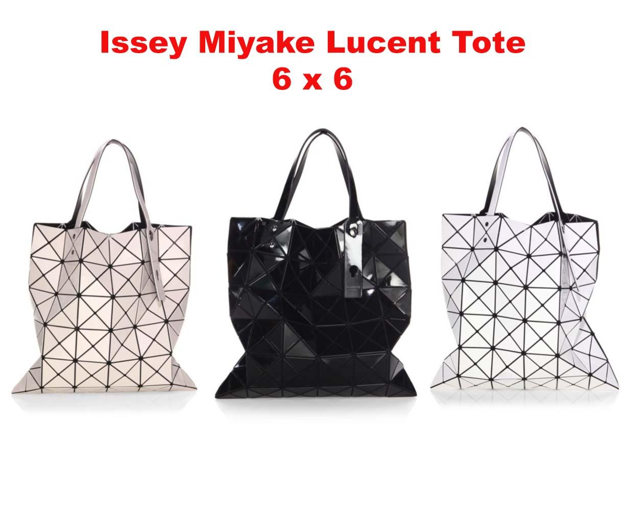 Issey Miyake Lucent Tote Bag / 6 by 6 - With Receipt