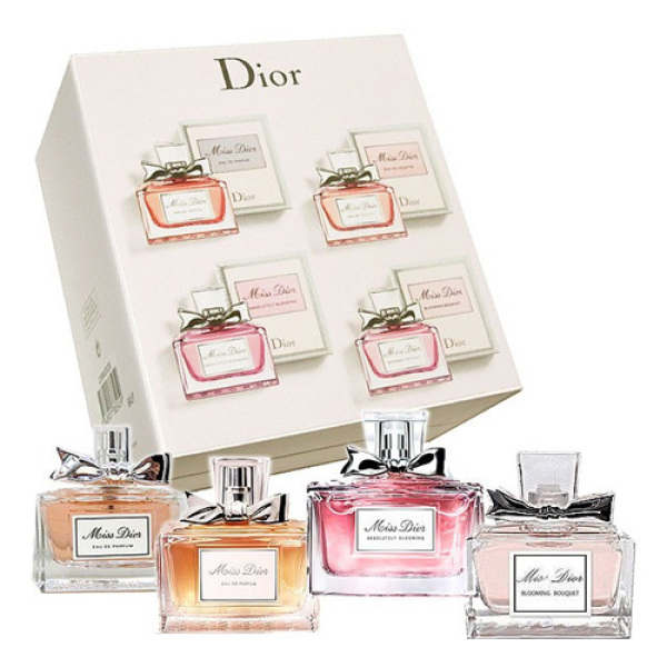 Buy Miss Dior La Collection Miniature Gift Set for Women With 4 x 5ml Singapore