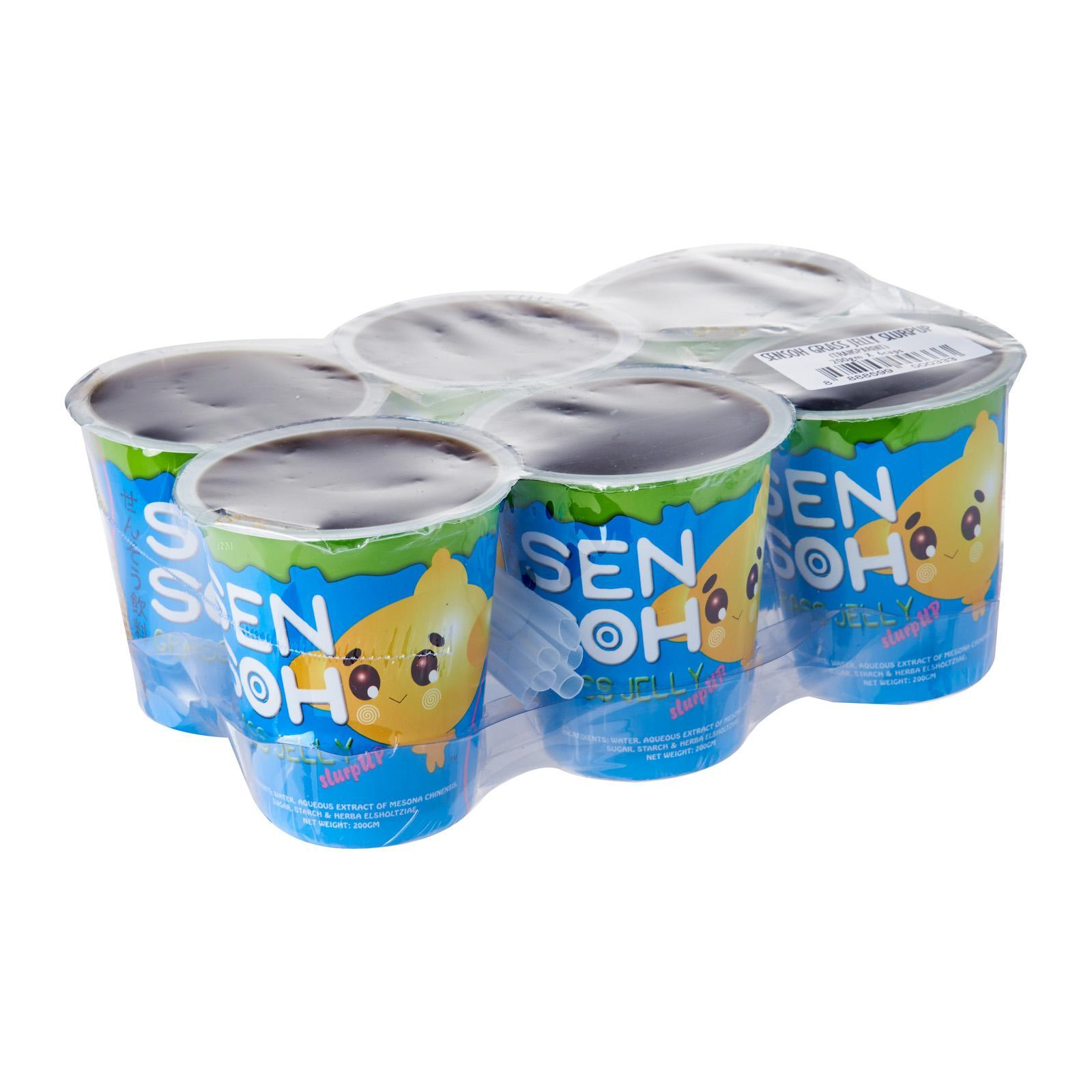 Sensoh Grass Jelly 6s (tray) - Case By Redmart.