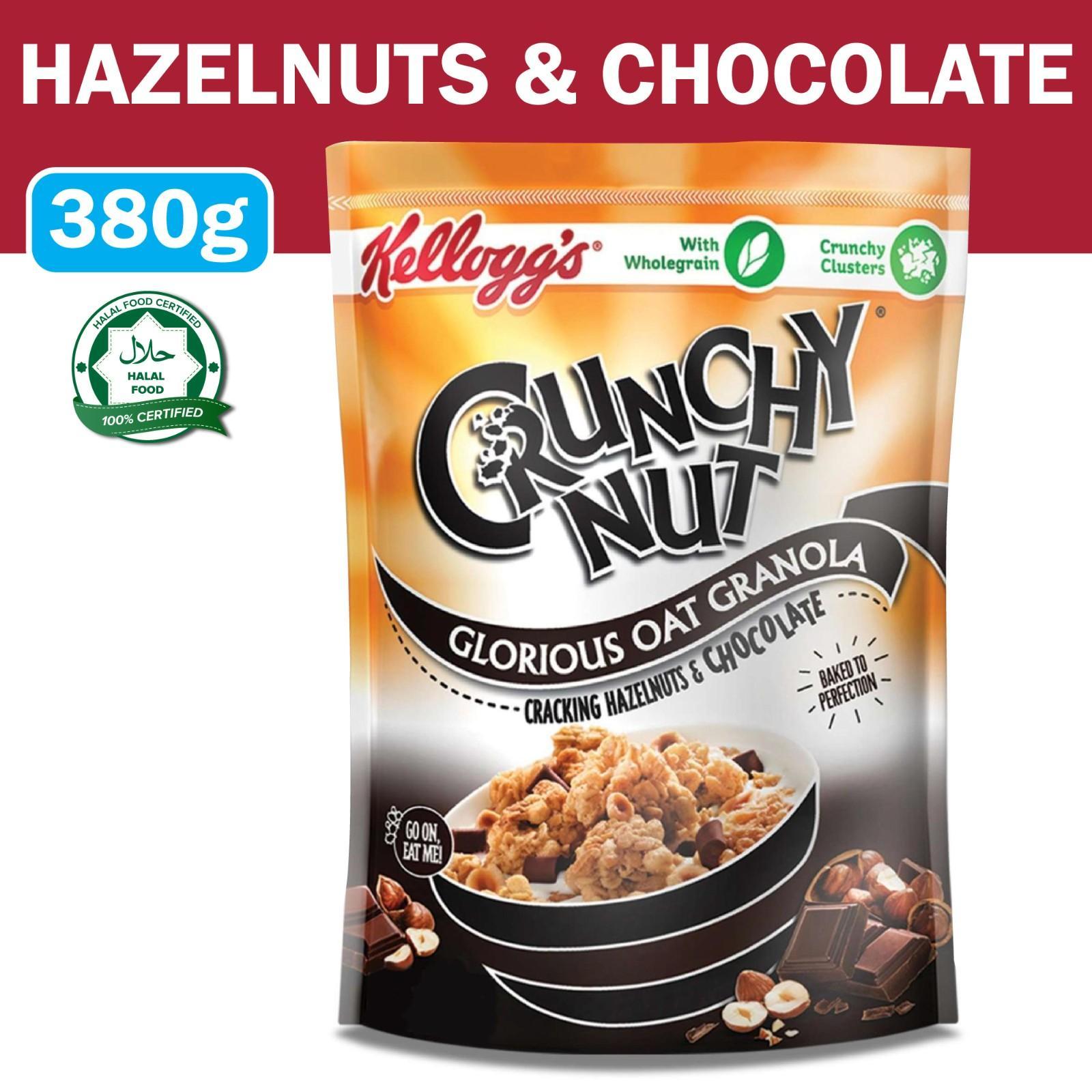 Kellogg's Crunchy Nut Oat Granola Choco Hazelnut