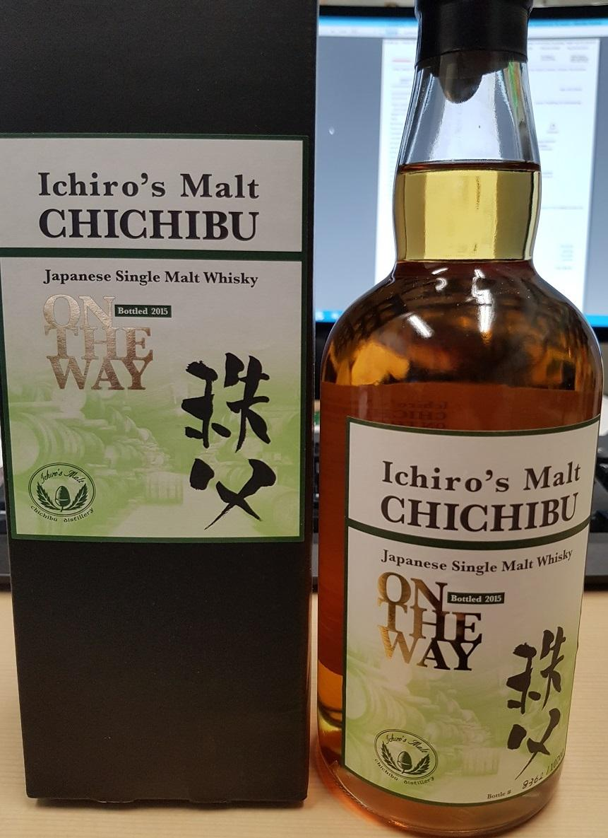 Ichiros Malt Chichibu On The Way (2015 Release) By Mandedrinks