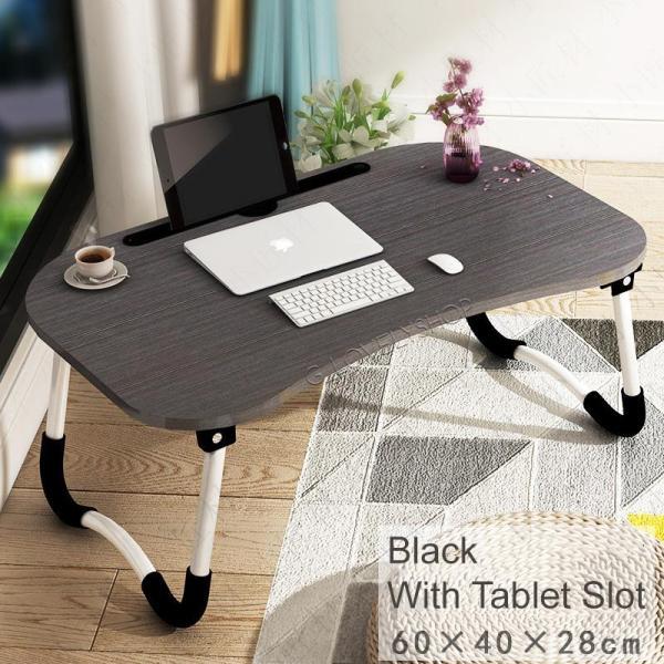 Portable Foldable Laptop Table Desk Tablet Phone Stand/Slot Folding