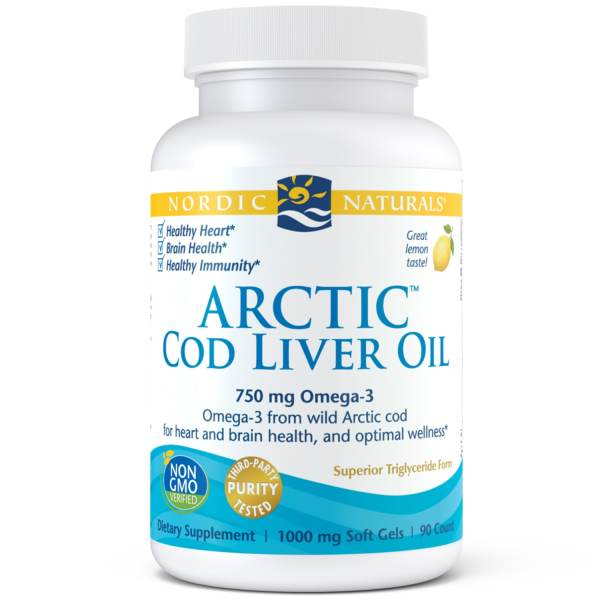Buy Nordic Naturals Arctic Cod Liver Oil 90 Soft Gels Singapore