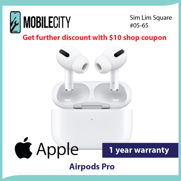 [Local Seller] Apple AirPods Pro | 1 Years Apple Warranty Singapore