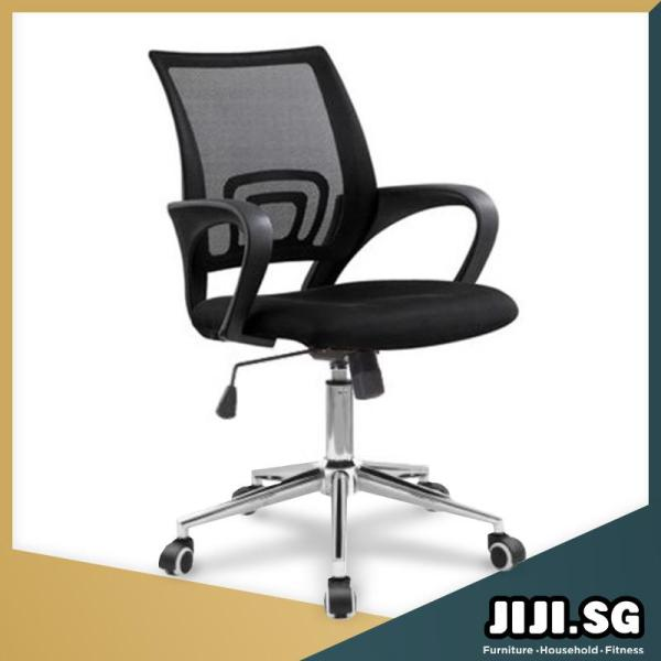 (JIJI SG) Typist Office Chair (Self-Assembly) - Office chairs / Study chair / Gaming chair / Ergonomic / Free Delivery (SG) Singapore
