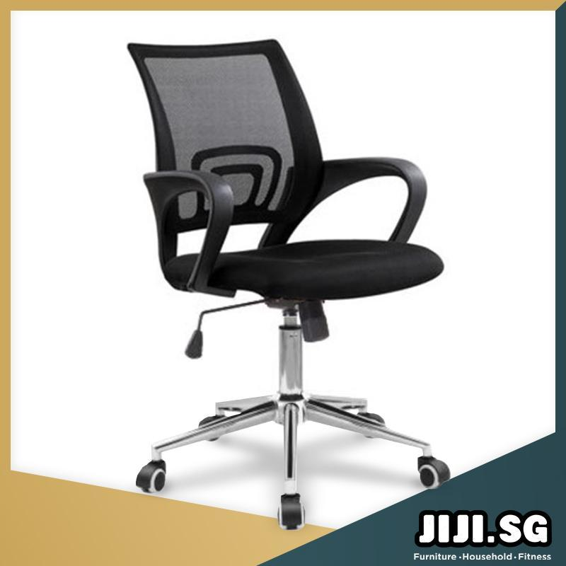 JIJI SG) Typist Office Chair (Self-Assembly) - Office chairs ...