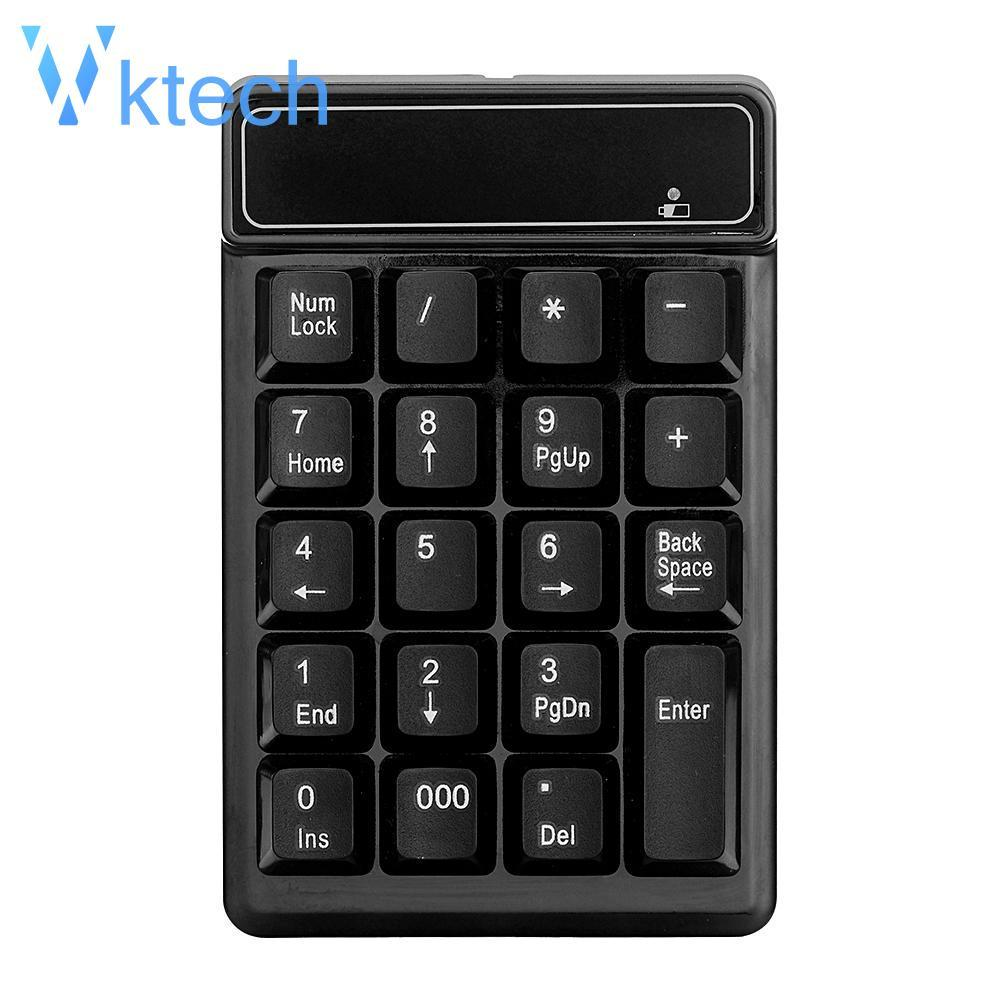 [Vktech] Wireless 2.4GHz 19 Keys Number Pad Numeric Keypad Keyboard for Laptop PC