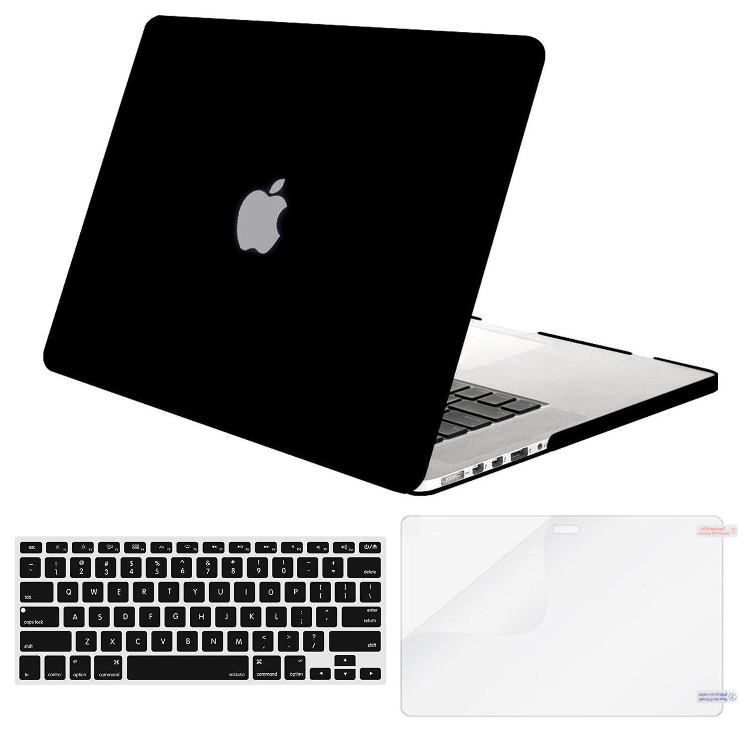 MacBook Pro 13 Inch Matte Plastic Hard Shell Case Cover for MacBook Pro13 Inch A1425/A1502 (Version 2017/2016/2015) Contains Keyboard Cover
