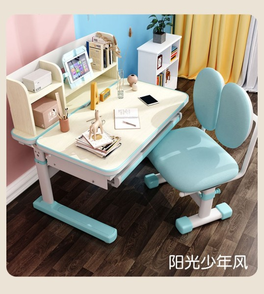 Ergonomic Study Table and Study Chair For Kids(DIY Installation) | Study Desk and Study Chair for Children | Height Adjustable Study Table and Chair for Children | Height Adjustable Study Desk and Chair for Kids