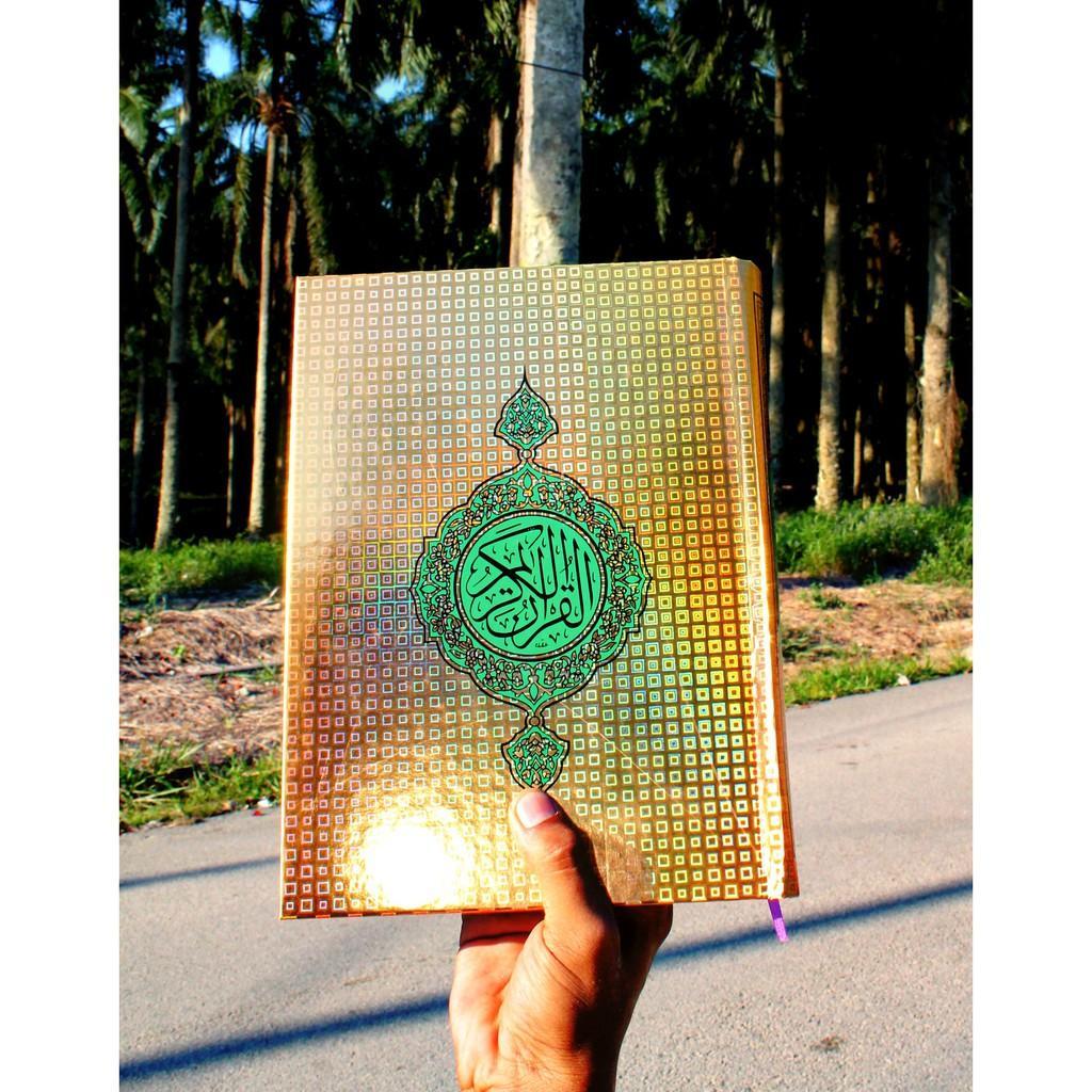 Quran Muslim Book / Al Quran Hantaran Size A4 (BEST SELLING !!)