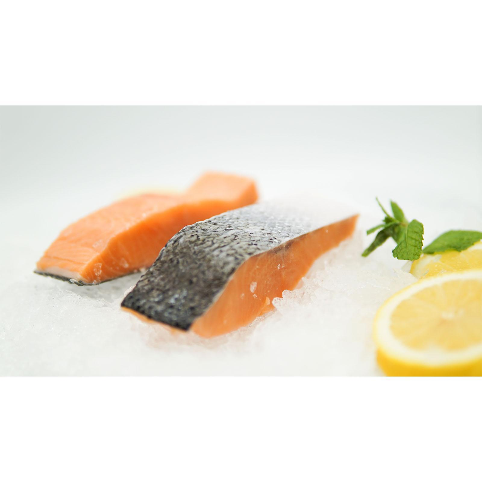 Silversea Salmon Portion - Frozen By Redmart.