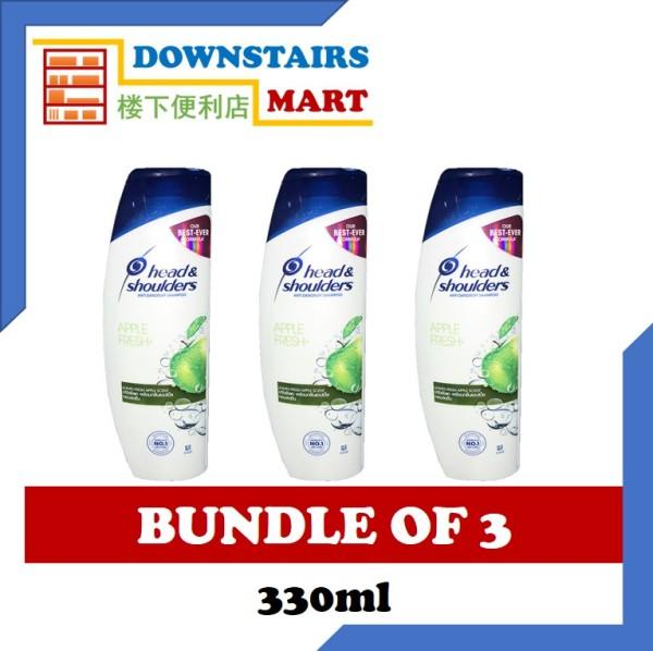 Buy [Bundle of 3] Head & Shoulders Apple Fresh Shampoo 330ml x 3 Singapore