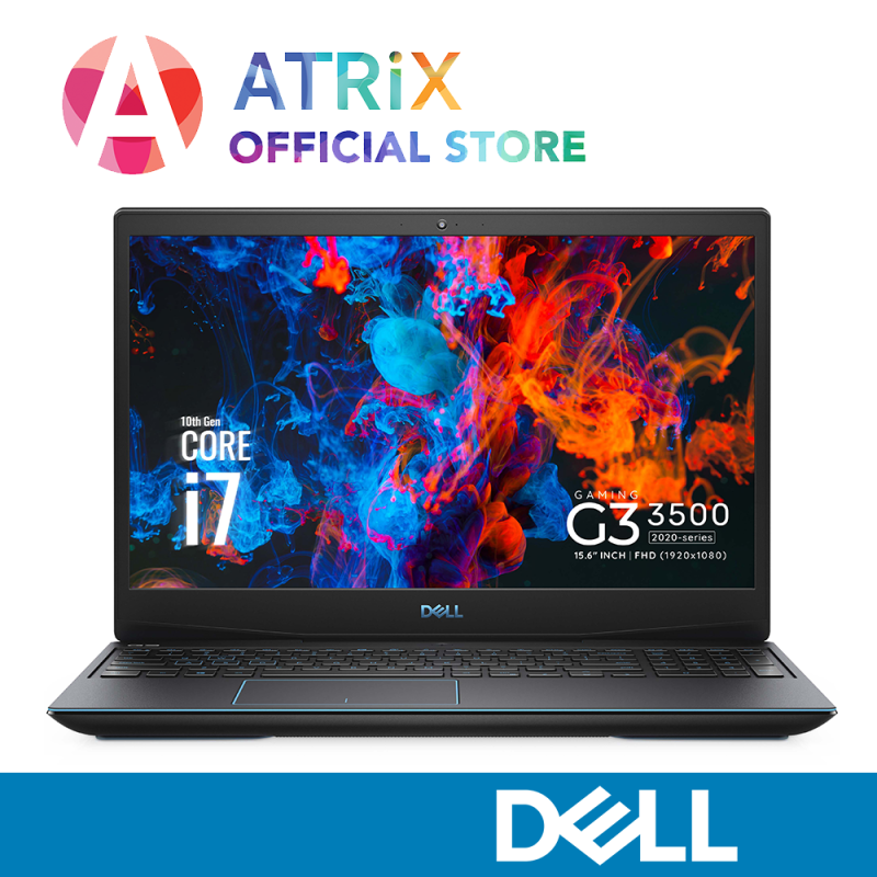 【Same Day Delivery】2020 Dell Gaming G3 3500 | GTX1650TI | 15.6inch 120Hz | i7-10750H | 16GB DDR4 | 1TBHDD+256GB SSD | Win 10 | 2yrs Dell Onsite warranty | DELL G3 NEW G3 2020 3500-107114GL
