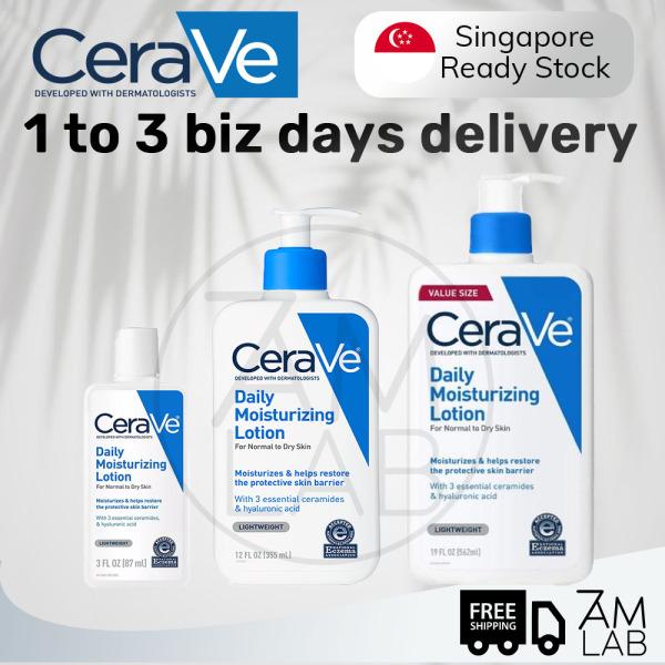 Buy [SG Stock] CeraVe Daily Moisturizing Lotion (87ml, 355ml, 562ml) Singapore