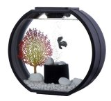 Compare Price Deco O Fish Tank 10 Litre Black On Singapore