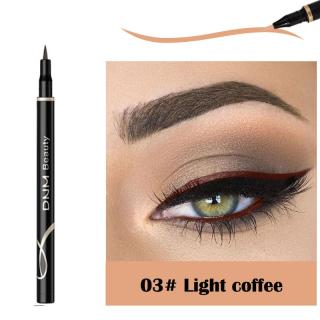 Prettyoung DNM Bút Kẻ Mắt 12 Màu, Bút Kẻ Mắt Dạng Lỏng Chống Thấm Nước Và Mồ Hôi Lâu Trôi Nhung Mờ -Mềm Mại Chống Mồ Hôi Lâu Dài Trang Điểm Mắt Nữ Nhanh Khô Mỹ Phẩm thumbnail