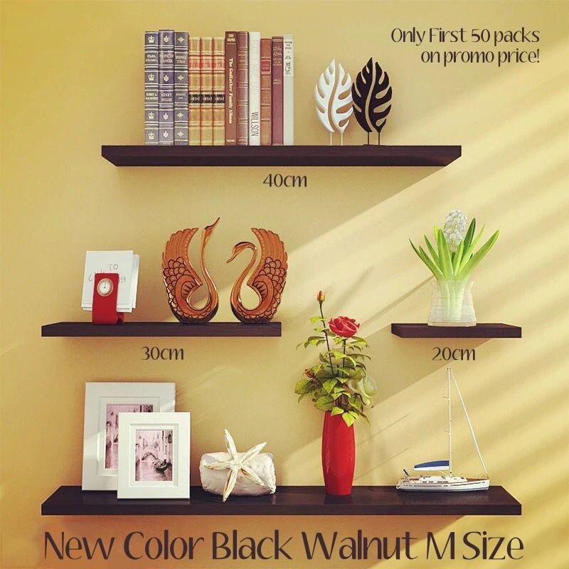 Modern simple 3 or 4 pcs set wood wall clapboard wall hanger wall book shelf decoration shelf storage organizer wholesale WDC018 WDC028