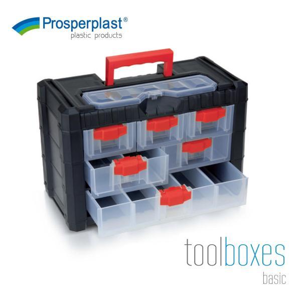 Prosperplast Multipurpose DIY Hardware Organizer Multicase Cargo Tool Box (4 Sizes)