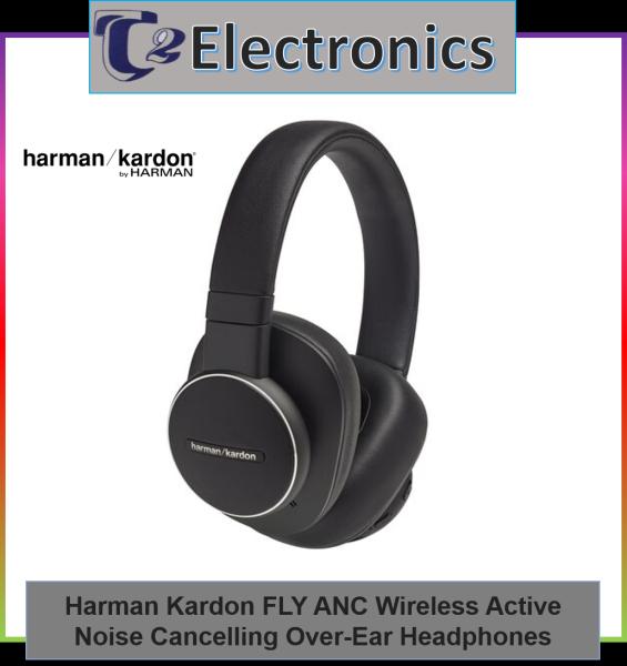 Harman Kardon FLY ANC Wireless Active Noise-Cancelling Over-Ear Headphones - T2 Electronics Singapore
