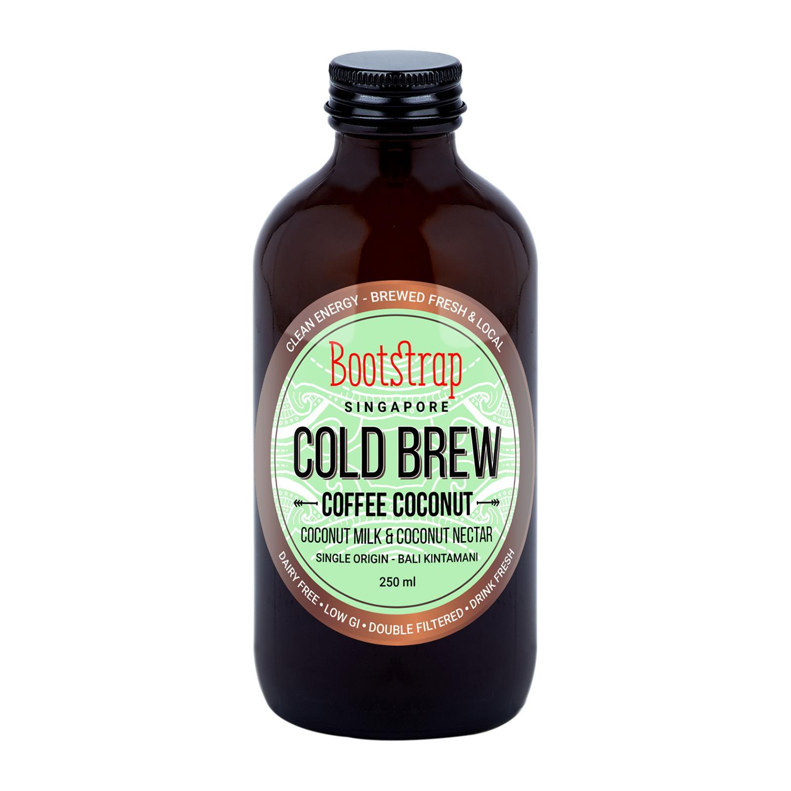 Bootstrap Cold Brew Coffee Coconut By Redmart.