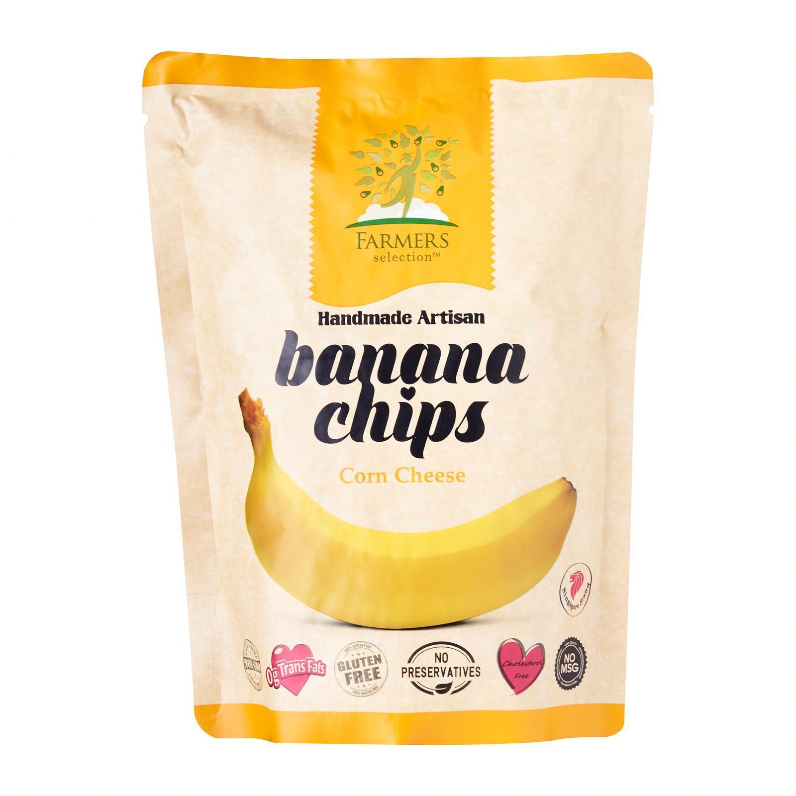 Farmers Selection Corn Cheese Banana Chips
