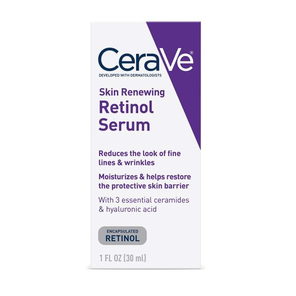 Buy CeraVe Anti Aging Retinol Serum for Face | Cream Serum for Smoothing Fine Lines | Fragrance Free | 1 fl oz (30 ml) Singapore
