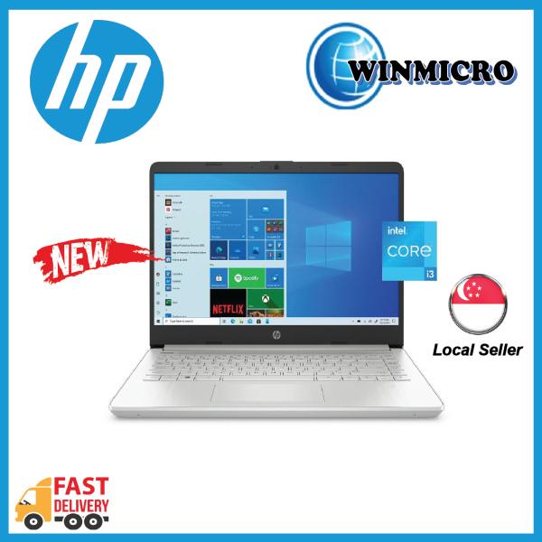 HP Laptop 14 - 11th GEN i3, 14 INCH SCREEN FHD, Intel UHD Graphics XE, 4GB RAM, 256GB SSD, WI-FI 5, BT 4.2 Local warranty 1YR