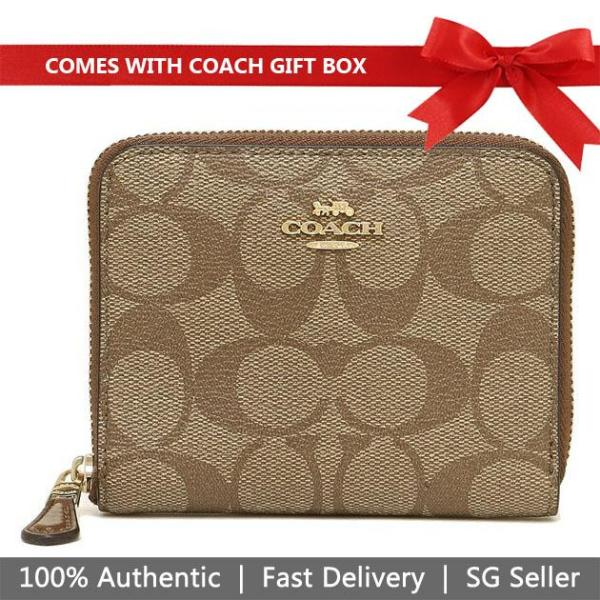 Coach Wallet In Gift Box 100% Authentic Small Wallet F87588