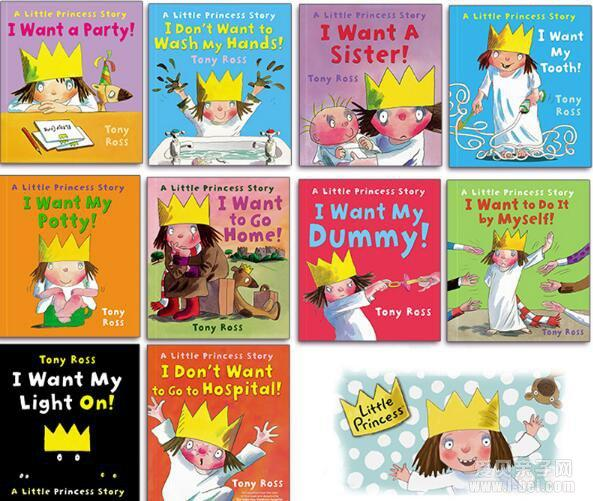 Little Princess Story by Tony Ross (10 books) c1