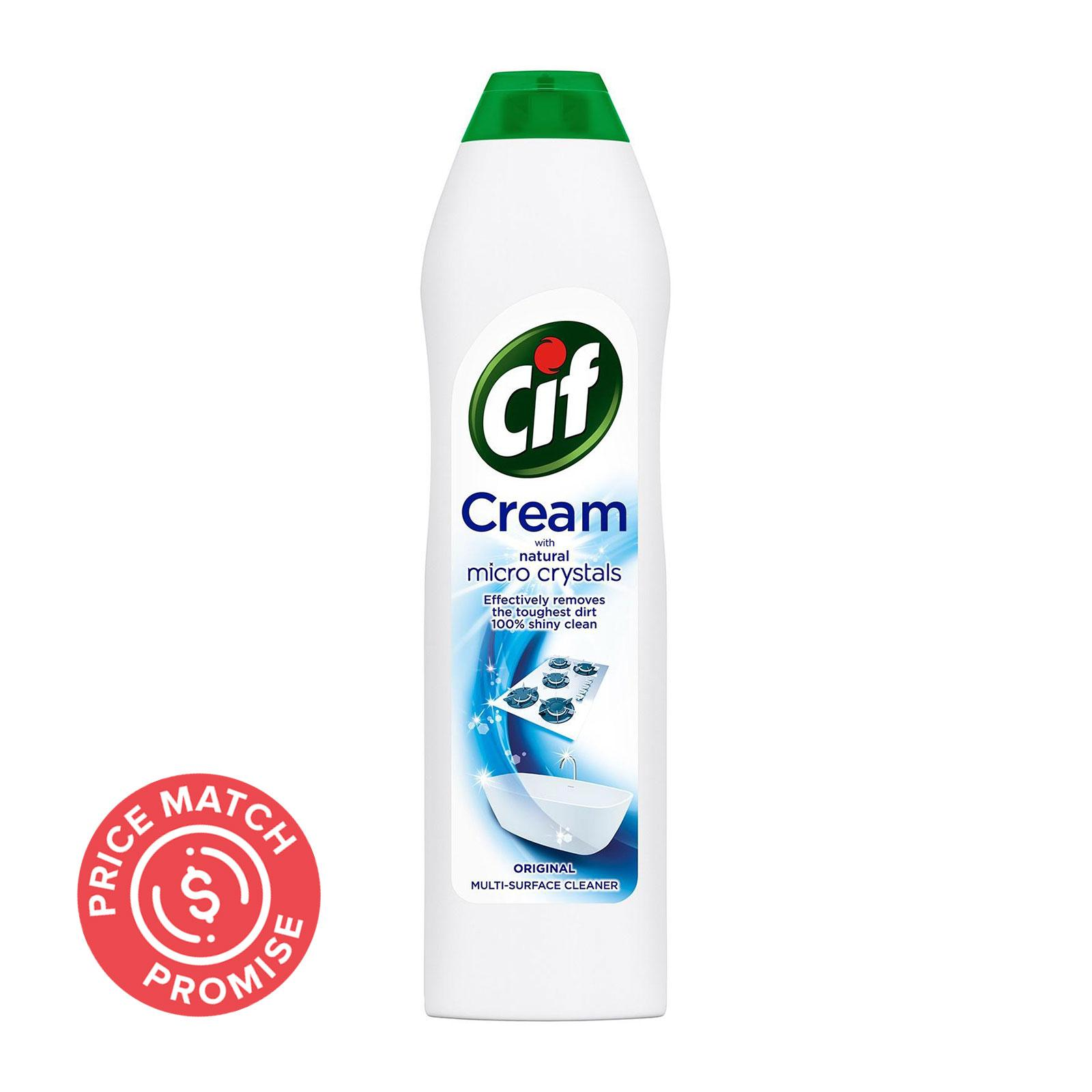 Cif Cream with Micro Crystals Original Surface Cleaner