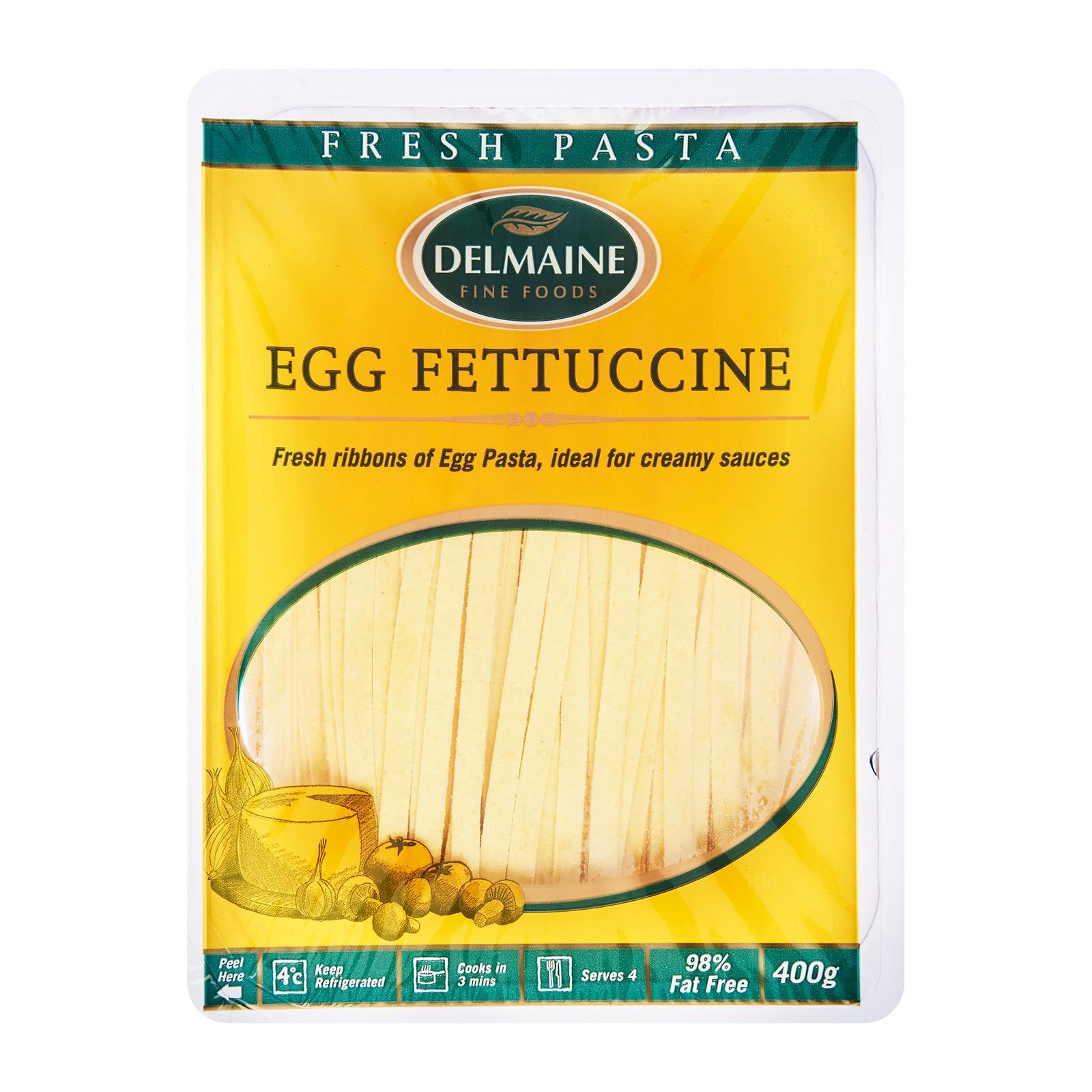 Delmaine Egg Fettuccine Flat Pasta By Redmart.