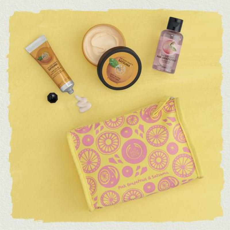 Buy The Body Shop Zingy & Zesty Citrus Delights Bag Singapore