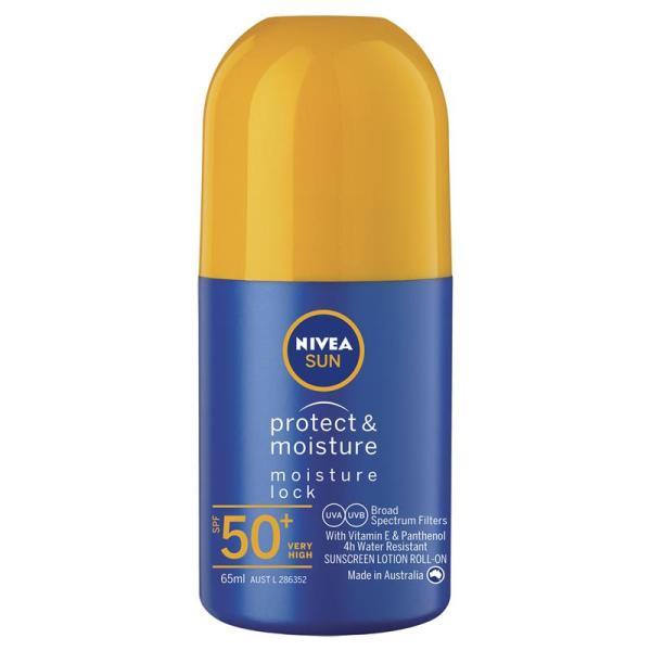 Buy Nivea Sun SPF 50+ Protect & Moisture Roll On 65mL May 2022 Singapore