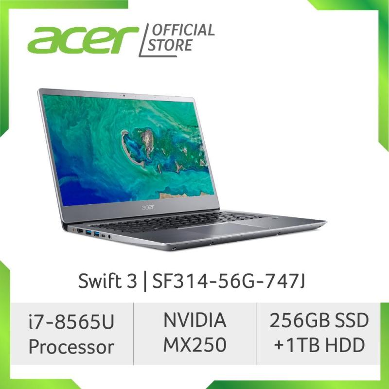 Acer Swift 3 SF314-56G-747J Thin and Light Laptop (Silver) with 8th Gen Intel i7 and MX250 Graphics