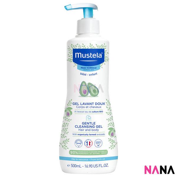 Buy Mustela Gentle Cleansing Gel (Hair and Body Wash) 500ml Singapore
