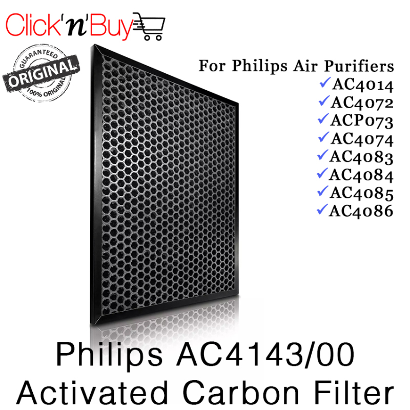 Philips AC4143/00 Activated Carbon Filter. Local SG Stock Made In Korea. (AC4143) Singapore