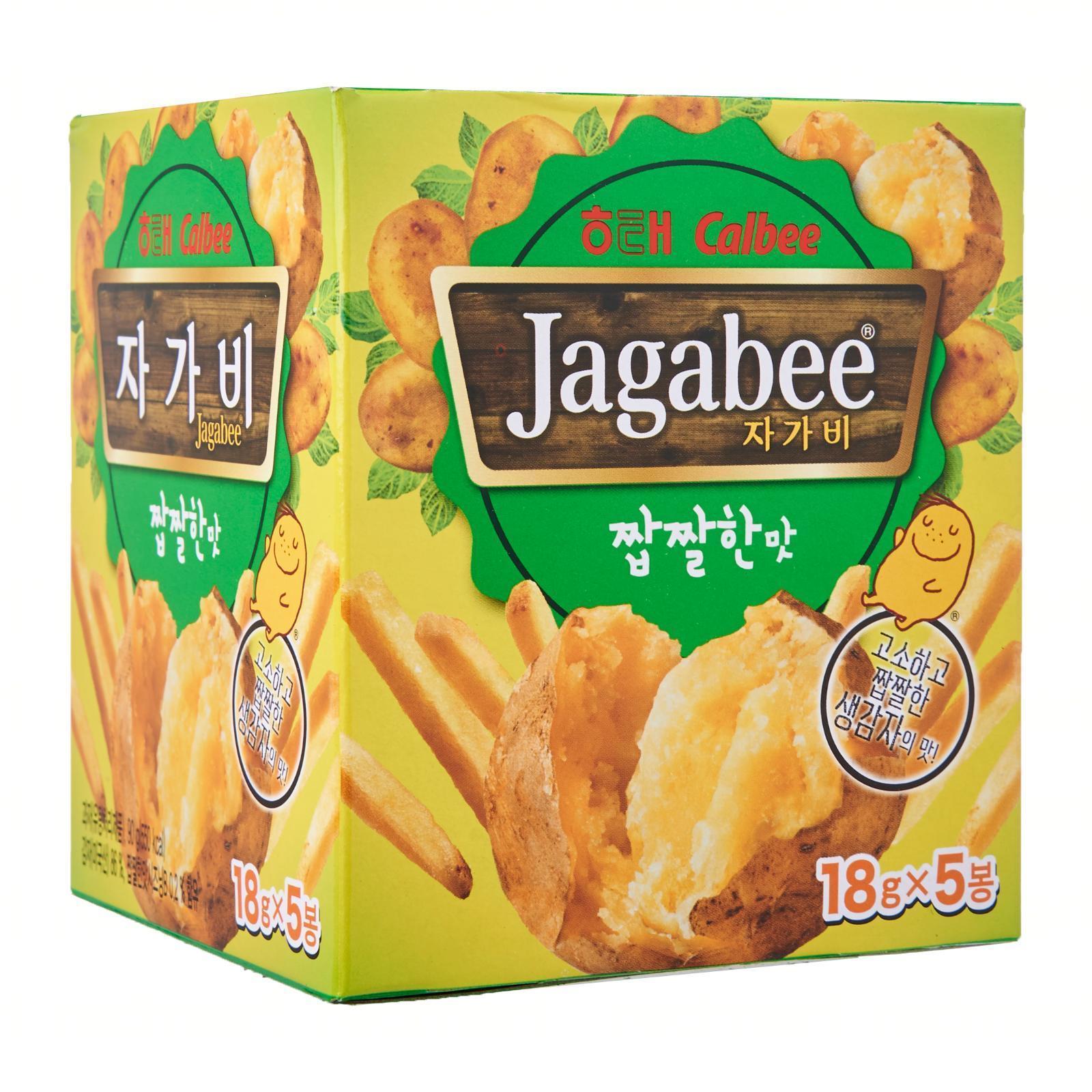 HaiTai X Calbee Korean Original Jagabee Potato Sticks
