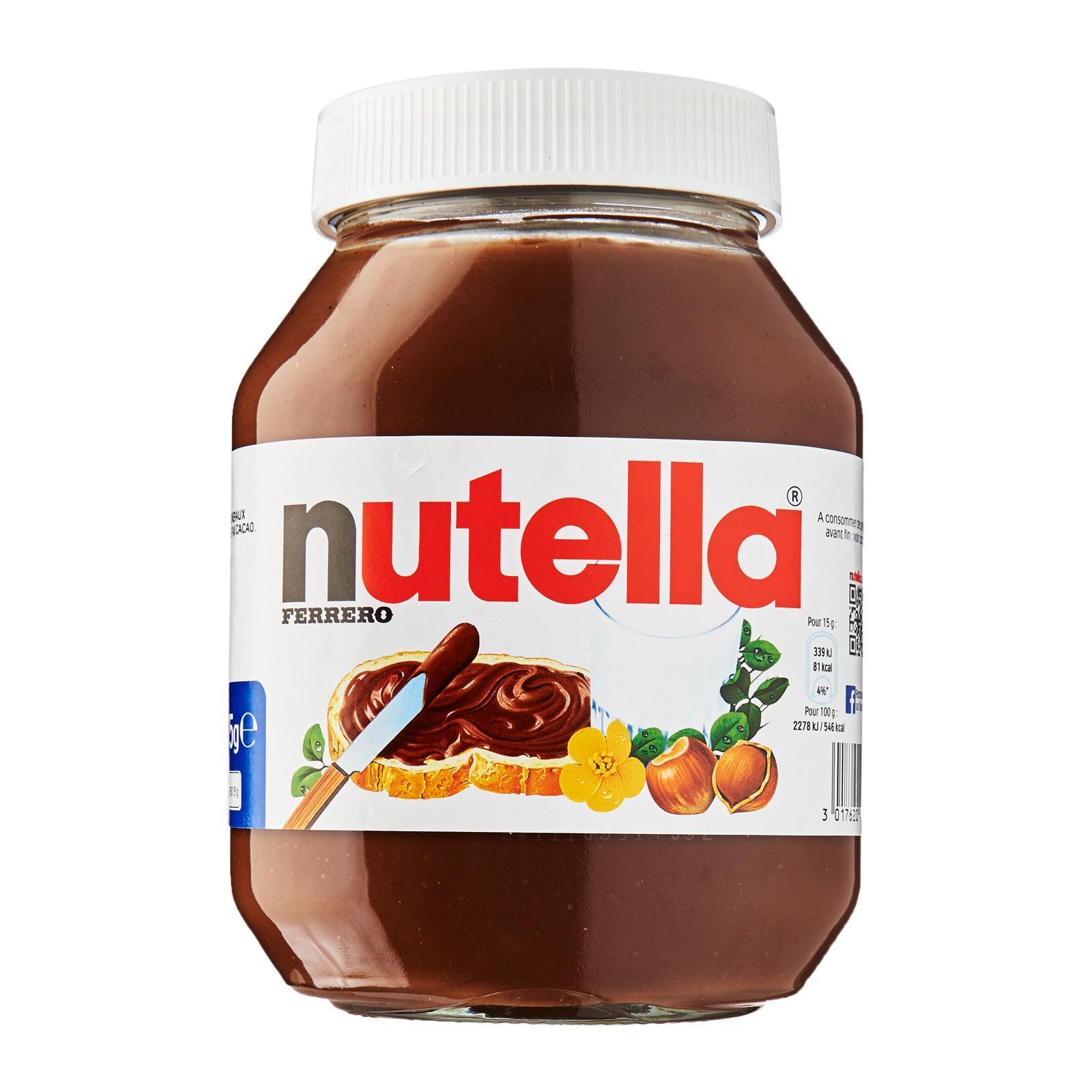 Nutella Hazelnut Spread Family Size By Redmart.