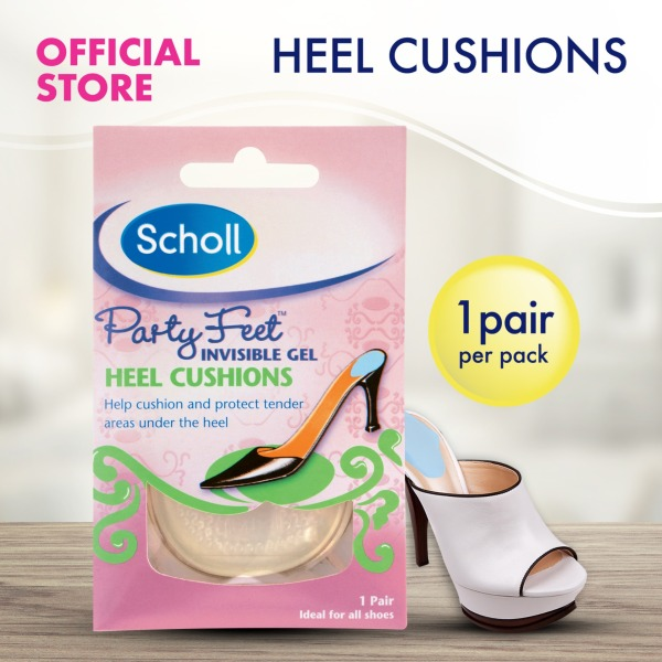 Buy Scholl Party Feet Gel Heel Cushions for Preventing Burning Pain Singapore