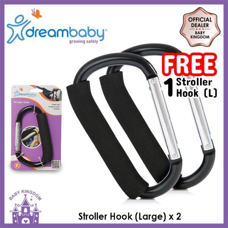 [BUY 1 FREE 1] Dreambaby Stroller Hook (Large) Singapore