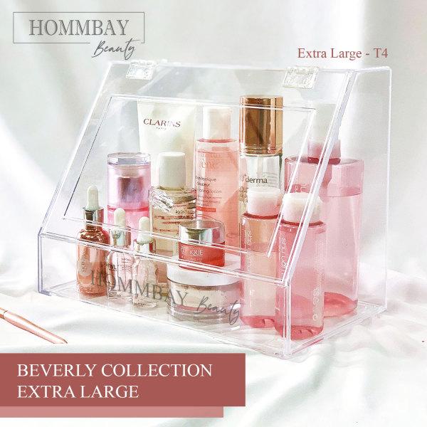 Buy [HOMMBAY Beauty] BEVERLY Extra Large Makeup Organizer Cosmetic Organiser Storage Box Faux Acrylic Drawer Jewellery Jewelry Organiser Singapore