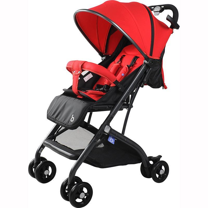 BaoBaoHao Foldable Cabin Size Baby Stroller Light Weight One Hand Fold Singapore