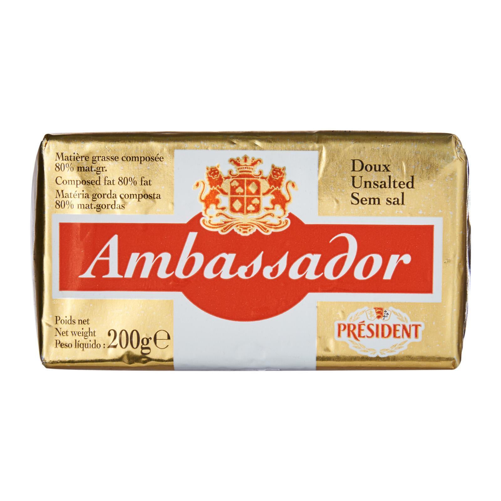AMBASSADOR Specialty Dairy Block - Unsalted